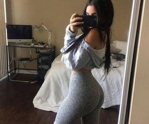 leggings, body motivation, and body goals image