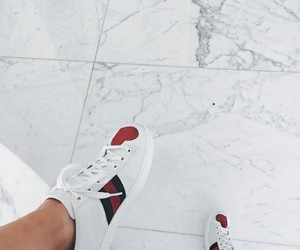 shoes, kylie jenner, and gucci image