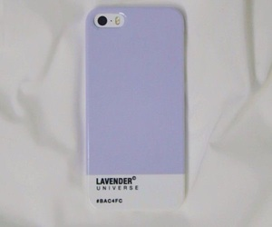 iphone, case, and lavender image
