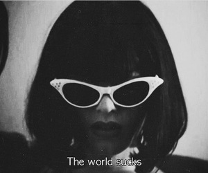 sucks, world, and quotes image