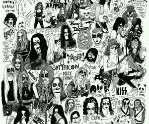 Darkthrone, rock, and Mayhem image