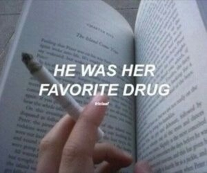 quote, cigarette, and tumblr image