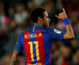 11, neymar, and football image