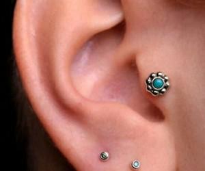 piercing jewelry blue ear image