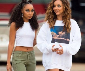 jade thirlwall, little mix, and leigh anne pinnock image
