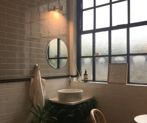bathroom, aesthetic, and goals image