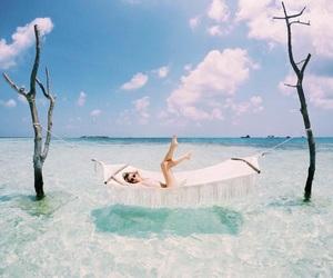 girl, photo, and sea image