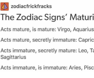 accurate, so true, and zodiac signs image