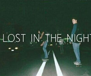 lost, night, and boys image