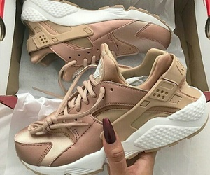 aesthetics, beige, and trainers image