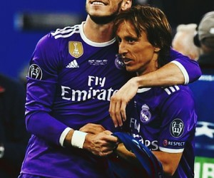 bale, real madrid, and modric image