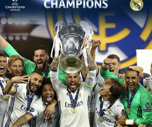 champions, hala madrid, and 12 image
