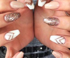 beauty, nail art, and girls image