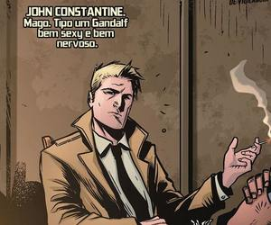 dc comics, Constantine, and john constantine image