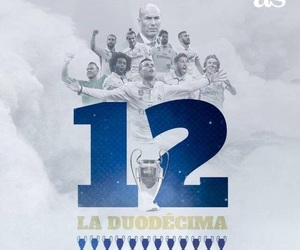 12, real madrid, and ucl image
