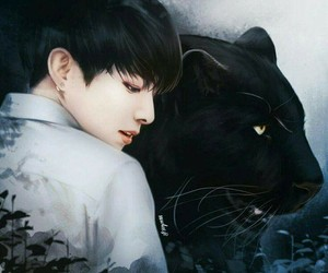 bts, jungkook, and fanart image