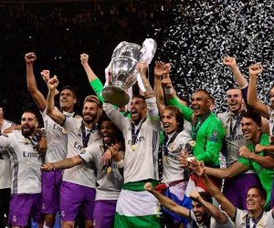 real madrid and champions image