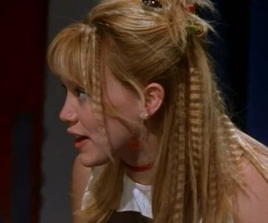 90's, hair, and Hilary Duff image