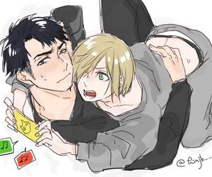 anime, boys, and yuri on ice image