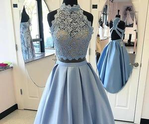 dress, prom dresses, and evening dresses image