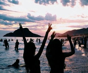 summer, vacation, and friends image