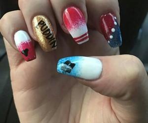 harley quinn and nails image