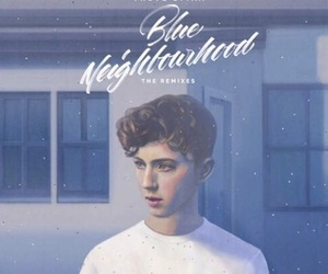 troye sivan and blue neighbourhood image