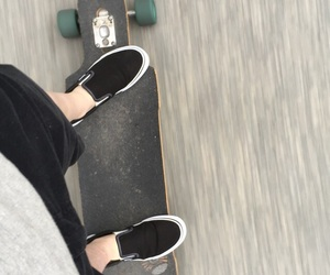 freedom, longboard, and vans image
