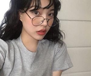 girl, asian girl, and edit image