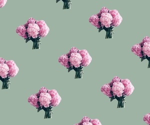 floral, iphone, and pattern image