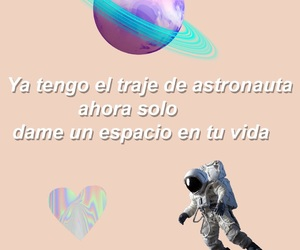 love, overlay, and space image
