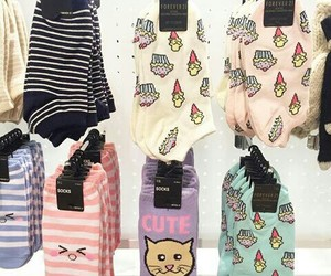 fashion, socks, and cute image