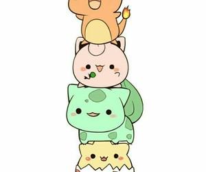 pokemon, kawaii, and pikachu image