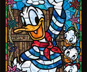 chip, disney, and donald duck image