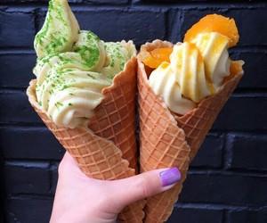 food, ice cream, and yummy image