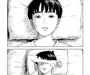 art, manga, and sad boy image