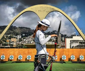 archery, olympics, and bow image