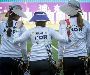 archery, korea, and ki bo bea image