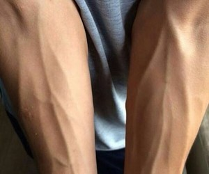 boy, veins, and sexy image