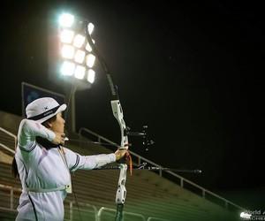 archery, korea, and power image