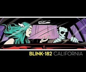 blink-182 and california image