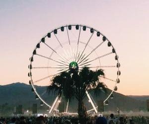 coachella, travel, and festival image
