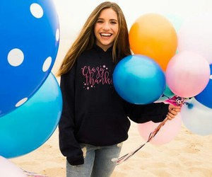 13, actress, and balloons image
