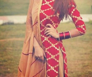 ethnic wear, bangles, and india image