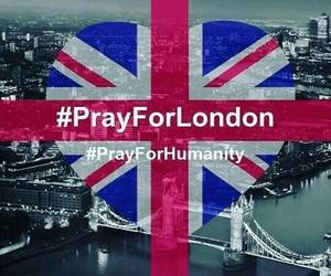 london, pray, and sad image