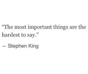 quote, hard, and important image