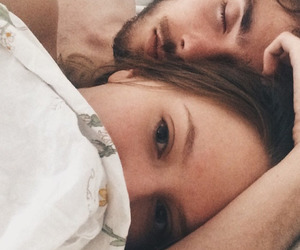 couple, boysandgals, and sleep image