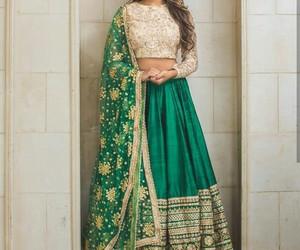 culture, indian, and sari image