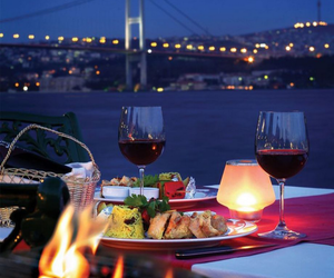istanbul, travel, and night image