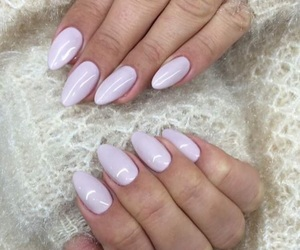 nails, purple, and nials image